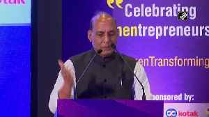 No branch of armed forces should remain closed for women officers Rajnath Singh [Video]