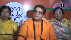 Pragya Thakur slams intellectuals for running save water campaign during Holi [Video]
