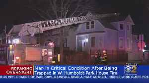 Man In Critical Condition After Being Trapped In West Side House Fire [Video]