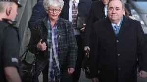 Alex Salmond arrives at court to face sex assault allegations [Video]