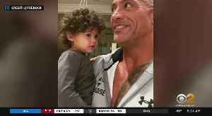 SEE IT: The Rock's Empowering Message To His Daughter [Video]