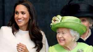 The Queen Makes This Sweet Gesture for Meghan [Video]