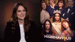 'Misbehaviour': Exclusive Interview With Keira Knightley [Video]