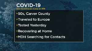 Second Case Of COVID-19 Confirmed In Minnesota [Video]