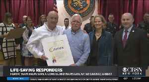 Nassau County Man Celebrates 72nd Birthday With First Responders Who Saved His Life [Video]