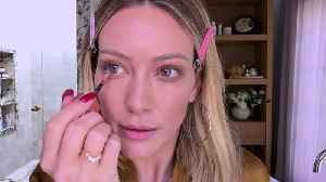 Hilary Duff on Melasma, Glitter Eyeshadow, and Her Busy Mom Makeup Routine [Video]