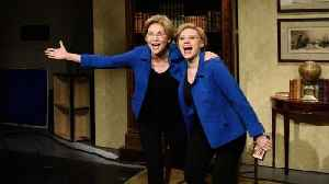 Elizabeth Warren and Kate McKinnon Take on Drake's 'Flip the Switch' TikTok Challenge on 'SNL | Billboard News [Video]