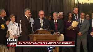 Cleveland Mayor Frank Jackson, health officials hold press conference after Gov. Mike DeWine confirms 3 positive COVID-19 cases  [Video]