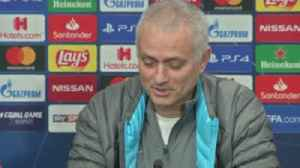 Jose on Spurs injury crisis: You have to laugh! [Video]