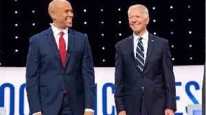Cory Booker Endorses Former Vice President Joe Biden [Video]