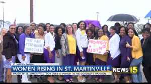 Women rising in St. Martinville [Video]