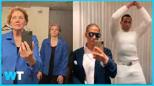 Elizabeth Warren AND JLo Help Make Tik Tok Challenge VIRAL! [Video]