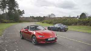 The new Mazda MX-5 Design Preview in Red [Video]