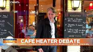 Green mayor calls for Paris to ban outdoor heaters amid CO2 concerns [Video]