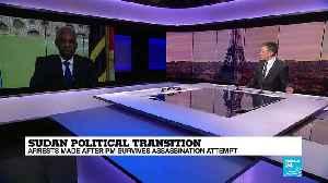Sudan Political Transition: Arrests After PM Survives Assassination Attempt [Video]