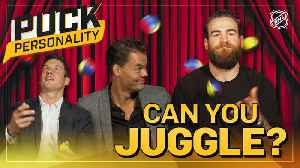 Puck Personality: Can NHL Superstars Juggle? [Video]