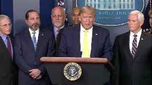 President Trump provides an update on the government's response to the novel coronavirus as the number of cases grows in the U.S [Video]