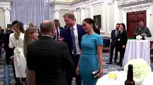 Royals gather before Harry and Meghan bow out from official roles [Video]