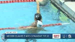 Keiser wins their third straight NAIA men's swimming national championship [Video]