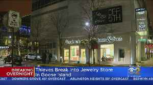 Jewelry Store Robbed In Goose Island [Video]