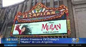 Sneak Peek At Live Action Mulan [Video]