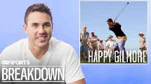 Pro Golfer Brooks Koepka Breaks Down Golf Scenes from Movies [Video]