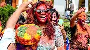 India Holi festival: Celebrations overshadowed by virus outbreak [Video]