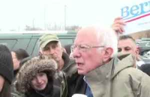 Sanders taking coronavirus 'very seriously' on campaign trail [Video]