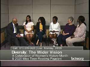 Diversity: The Wider Vision 03/09/20 [Video]