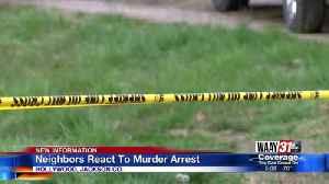 Neighbors React To Murder Arrest [Video]