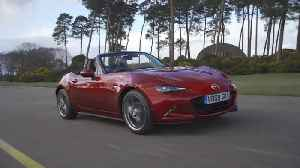 Mazda MX-5 in Red Driving Video [Video]