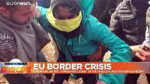 Turkey's Erdogan likens Greek authorities to Nazis for returning migrants [Video]