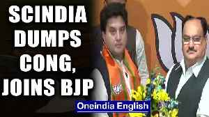 Madhya Pradesh crisis: After spending 18 years in Congress, Jyotiraditya Scindia joins BJP| Oneindia [Video]