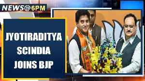 Jyotiraditya Scindia joins BJP, ends 18 year-old journey with the Congress | Oneindia [Video]