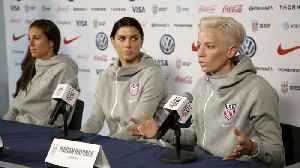 U.S. Soccer Says Men's Team Has 'More Responsibility' Than Women's [Video]