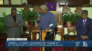 UMMS, clergy leadership team up to put together town hall to discuss coronavirus issues [Video]