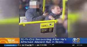 Man, 76, Beaten On MTA Bus [Video]