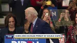 Joe Biden wins the Michigan Presidential Primary [Video]