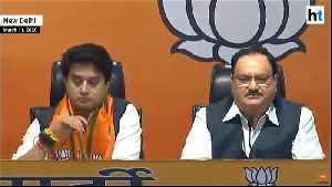 'Cong not what it used to be': Jyotiraditya Scindia joins BJP, slams MP govt [Video]