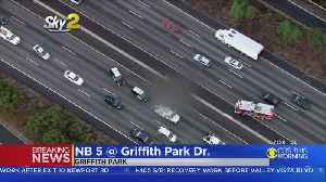 1 Killed In Crash On Northbound 5 Freeway In Griffith Park [Video]
