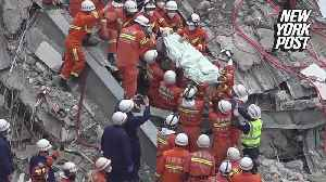 China coronavirus hotel collapse: Man rescued after 69 hours [Video]
