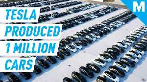 Tesla has officially produced one million cars [Video]