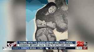 23ABC speaks with artists behind viral Kobe mural [Video]