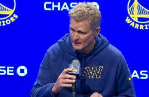 EMPTY ARENAS: Coach Steve Kerr Talks About Announcement Golden State Will Play In Empty Chase Center Over Coronavirus Concerns [Video]