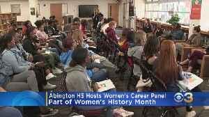 Abington High School Hosts All-Women Career Panel On Campus [Video]
