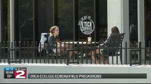 Utica College taking coronavirus precautions [Video]