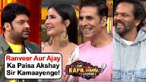 Kapil Sharma FUNNY COMEDY With Akshay, Katrina, Rohit Shetty | The Kapil Sharma Show Sooryavanshi [Video]