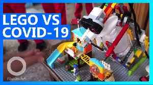 Taiwanese kids fight Wuhan virus with a lego robot [Video]