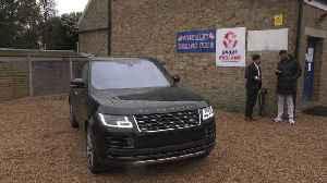 Anthony Joshua receives his bespoke Range Rover SVAutobiography [Video]