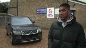 World Heavyweight Champion Anthony Joshua Gets Fight-Ready With Bespoke Range Rover SVAutobiography [Video]